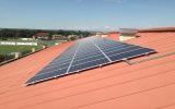 Chytré město Prostějov si vyrábí ekologickou elektřinu ze solárních panelů pro vlastní spotřebu. Brání se tak růstu cen elektřiny