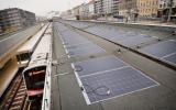 Elektřina z fotovoltaických folií napájí vídeňskou stanici metra