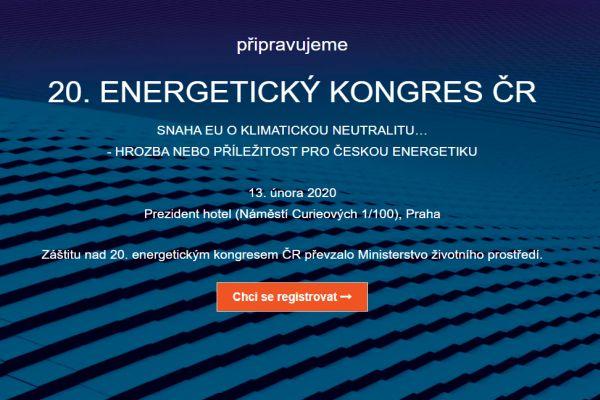 20. ENERGETICKÝ KONGRES ČR