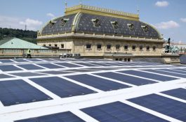Obří potenciál: Na střechách Škoda-Auto je potenciál na 40 MW solárních panelů. To je polovina bloku místní tepelné elektrárny
