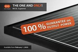 BISOL začal nabízet nové fotovoltaické panely bez degradace