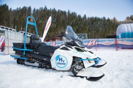 Vodíková technologie pro bezemisní zimní turistiku