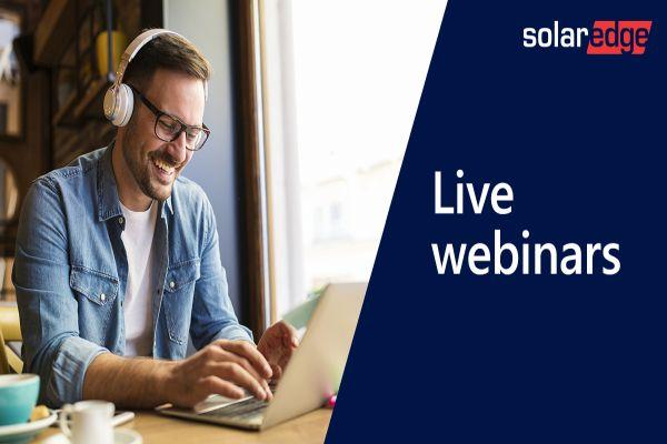 Živý CZ webinář SolarEdge: Jak se vyhnout chybám při instalaci moderních fotovoltaických technologií?