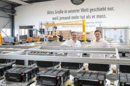 Tesvolt zahájil výrobu v první evropské gigatovárně na bateriové systémy
