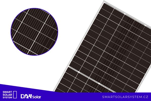 Nová technologie multibusbarových panelů DAH Solar pro fotovoltaické elektrárny