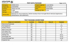 Baterie HE3DA získaly certifikaci pro trh v USA