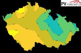 UCEEB nyní poskytuje bezplatně dlouhodobou předpověď slunečního osvitu