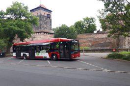Dobíjecí infrastruktura pro elektrobusy napájené zelenou energií