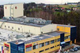 MARLENKA díky střešní fotovoltaické elektrárně ušetří přes půl miliónu ročně za elektřinu