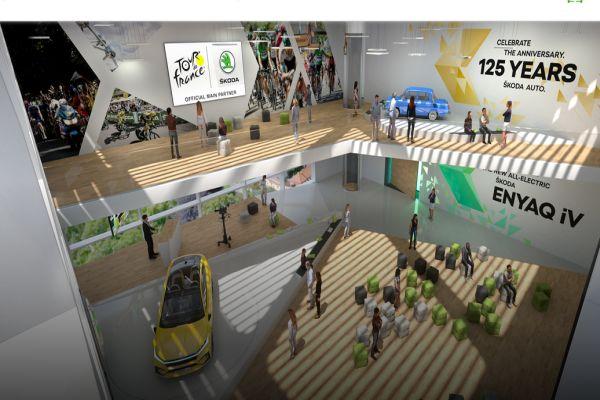 Živě i virtuálně: ŠKODA již1. září 2020 představí nový model elektromobilu ENYAQ iV