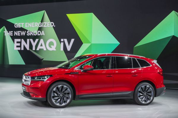 Nová elektrická Škoda Enyaq má dojezd až 510 km