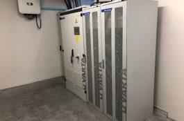 První instalace velkokapacitní Baterie VARTA FlexStorage v ČR a Střední Evropě – část druhá
