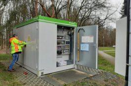 V Plzni testují bateriovou nabíjecí stanici