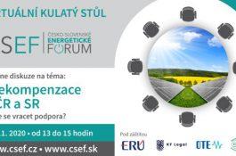 Virtuální kulatý stůl: Bude se vracet podpora kvůli překompenzaci OZE?