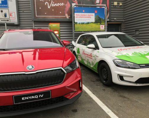 ČEZ zprovoznil 250 dobíječek pro elektromobily