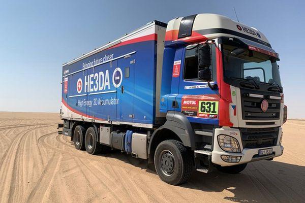 Baterie HE3DA vyrobené na Karvinsku úspěšně obstály vnáročných podmínkách rallye Dakar