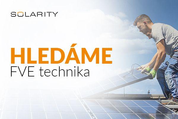 Solarity hledá technika FVE