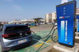 V Prostějově byla zprovozněna nová rychlonabíjecí stanice pro elektromobily
