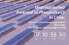 Pozvánka: Webinář o možnostech investování do fotovoltaiky vChile pro české společnosti