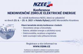 Pozvánka na konferenci Nekonvenční zdroje elektrické energie 2021