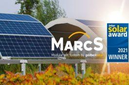 Intersolar (3.): GOLDBECK SOLAR získal prestižní ocenění za unikátní řešení pro Agrovoltaiku