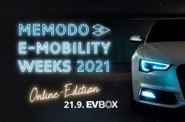 Memodo E-mobility weeks 2021 startují již tento týden!
