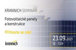 Pozvánka na seminář: Fotovoltaické panely a konstrukce