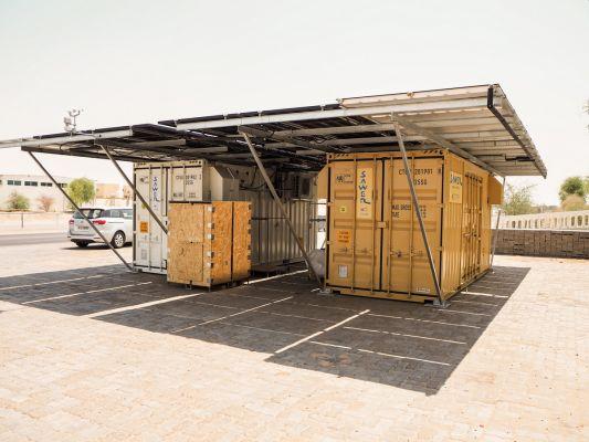 S.A.W.E.R.: Česká technologie získávání vody ze vzduchu s využitím solární energie běží v Dubaji naplno